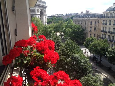 Photo for An apartment located in Paris on the Etoile Square, the Champs-Élysées
