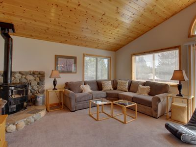 Photo for Roomy mountain home w/ shared pool, sauna, hot tub - near golf & the slopes!