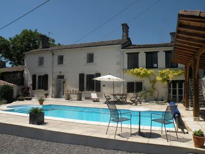 Photo for TRADITIONAL FARMHOUSE WITH PRIVATE POOL IN ENCLOSED COURTYARD