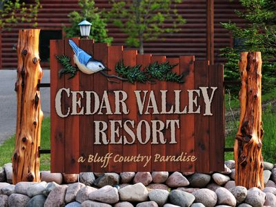 Photo for Cedar Valley Resort - Eagle Cabin