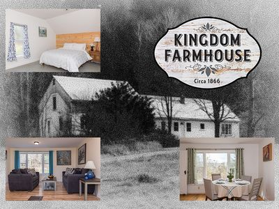 Photo for Charming  Eco-renovated Farmhouse by Lake 4 season Comfort in Perfect Setting