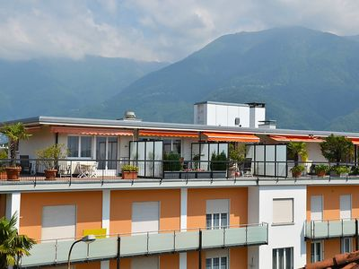 Photo for Apartment in the center of Ascona with Lift, Parking, Washing machine, Balcony (46835)