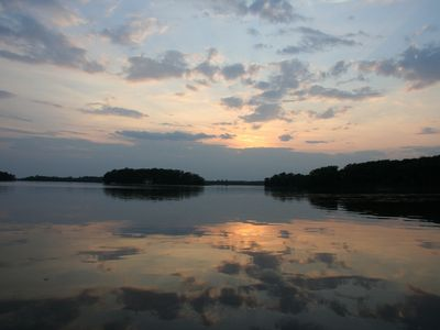 Photo for Towering Pines Whispering Winds - on Lac Vieux Desert near Land O' Lakes, WI 3BR