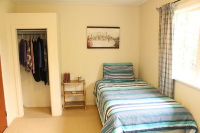 Shared Twin Room with Garden View.