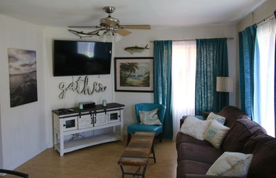Photo for Surf Side Cottage with patio, Two Kings Suites, Bunk Cave  & 70 steps to sand!