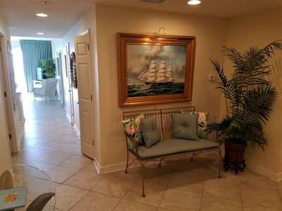 Photo for Gulf Oasis  Beautiful Penthouse AMAZING views 3 bedroom 2 bath Recent Face lift