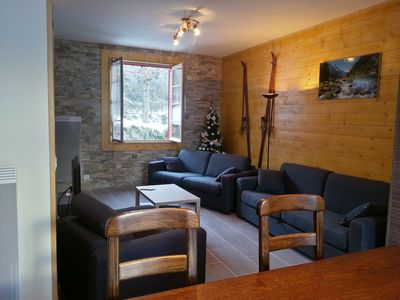 Photo for Cauterets, Les Arroques, 5 minutes from the center and Gondola Lys. free WIFI