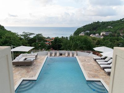Photo for Villa Hall - Ideal for Couples and Families, Beautiful Pool and Beach