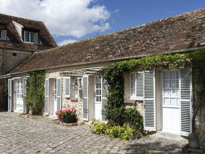Photo for The Stables, converted Stables at Le Moulin. Former home Edward and Mrs Simpson