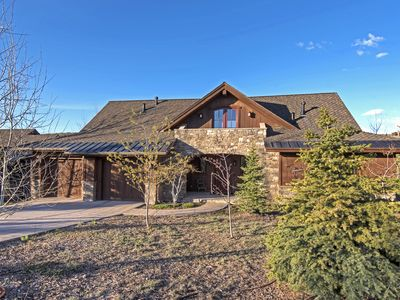 Photo for Luxurious Promontory Golf Club Cabin Only 150 Yards from Main Club Facilities!