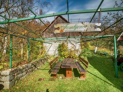 Photo for Rural house with splendid mountains view, 2 terraces, nice veranda lovely garden