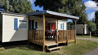 Photo for Camping La Plage *** - Air-conditioned mobile home Tonga 4 rooms 6 persons