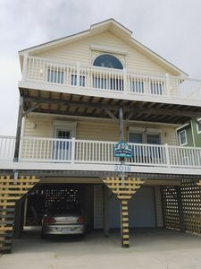 Photo for Great house, beautiful views. On the beach views with off the Beach prices