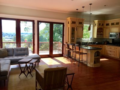 Photo for Large Weaverville Home with Amazing Mountain Views, 15 min to Asheville