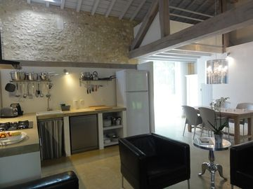 Cottage/Gite with contemporary design.House with character fully equiped.
