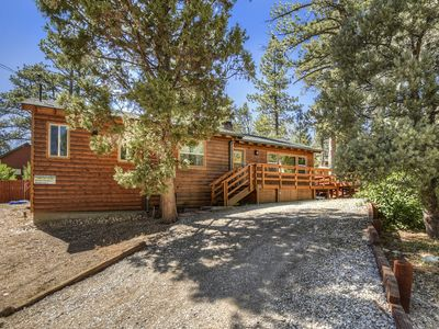 Photo for Cinderella's Cabin: Lovely Sierra Style! Walk to the National Forest! Large Lot with Fenced Yard!