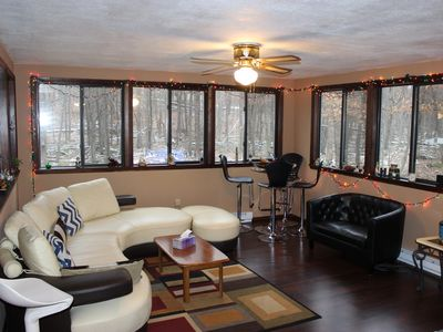 Photo for Comfy Fawn Lake Getaway minute away from Ski Big Bear