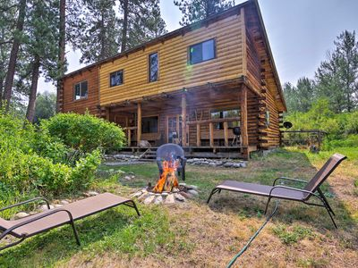 Photo for NEW! Rustic Idaho Cabin Near Payette Nat'l Forest!