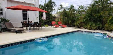 Photo for BEAUTIFUL SPANISH MISSION 3BR/2BA POOL HOME IN WPB/SoSo