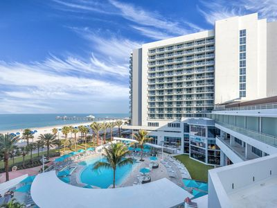 Photo for Luxury 2 Bedroom Condo right by Clearwater Beach