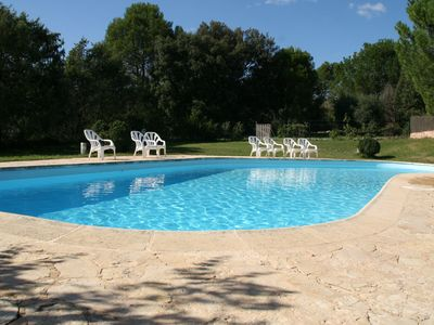 Photo for Lou Pitchou, charm in Provence with shared pool