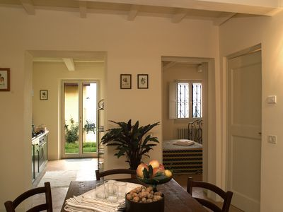 Photo for apartment on a hill a few kilometers from the sea and from Urbino