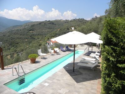 Photo for Il Faudo suitable 6/7 people. with shared pool & private Jacuzzi hot tub