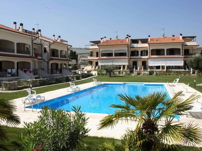 Photo for Holiday apartment Holiday complex Mediterraneo resort (living example)