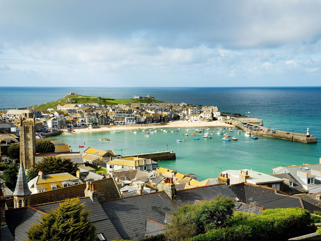 sea view st ives apartment victorian terraced house in