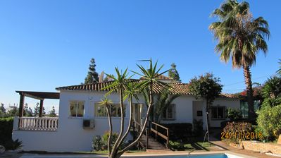 Photo for A Beautiful Andalusian Villa with  Private Swimming Pool in Mature Lush Gardens