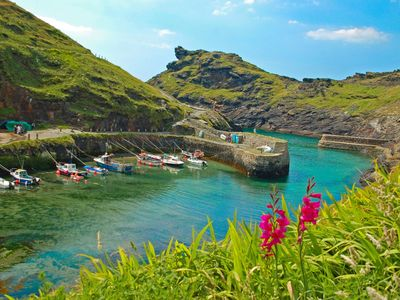 Historic fishing village of Boscastle