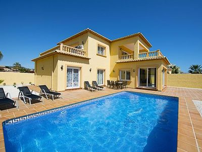 Photo for Villa 353 m from the center of Calp with Internet, Air conditioning, Parking, Terrace (250721)
