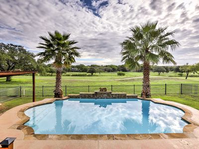 Photo for NEW! Schertz Family Home w/Pool & Golf Course View