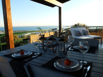 Photo for Sicilian villa with breathtaking sea view in Marina di Ragusa, Sicily