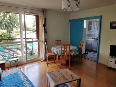 Photo for Apartment F2 47 m2 Peaceful with balcony Bassin Arcachon weekend / week / month