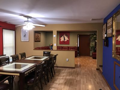 New look dining room and leaving room remodeling