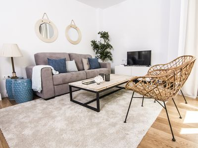 Photo for Letmalaga Gold 3, apartment two bedroom with solarium next to the beach