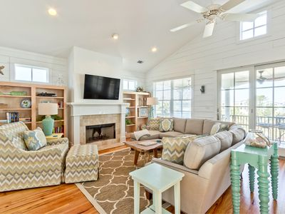 Photo for Gone Coastal: 4 BR / 4.5 BA home in Tybee Island, Sleeps 14