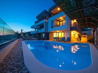 Photo for ctma128 - LAST MINUTE !  Modern and beautiful villa with private pool in Makarska, up to 10 persons