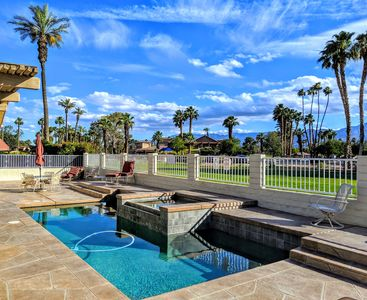 Photo for WALK TO COACHELLA! Gorgeous Remodel on Golf Course! Pool, Spa, Tennis & Golf!
