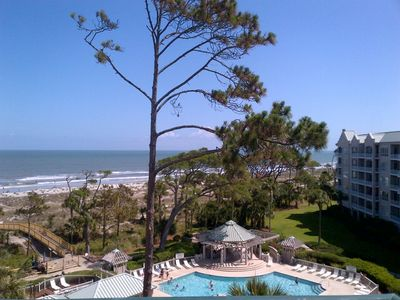 Photo for 4504 Windsor Court N | Amazing Ocean View | FREE Tennis | Complex Pool & Jacuzzi | Palmetto Dunes