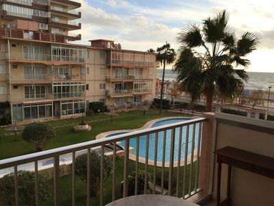 Photo for Beautiful apartment a few meters from the beach, sea and garden views