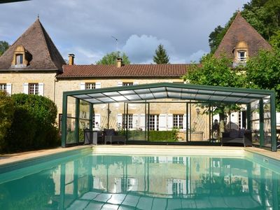 Photo for Authentic and comfortable house with heated indoor pool (from April to November)