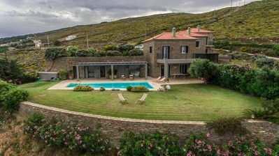 Photo for Villa Oliva - Majestic views of Andros