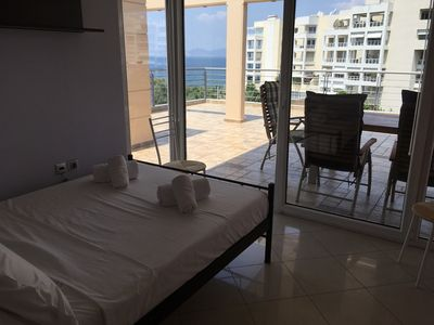 Photo for Penthouse with amazing sea view and pool !!!