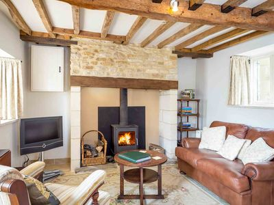 Photo for Rose Walk Cottage is a beautiful Cotswold stone cottage, located in the village of Upper Oddington