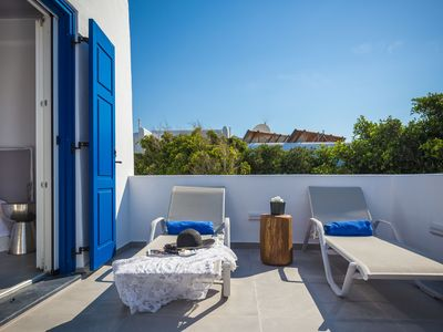 Photo for Villa Iliana with outside pool - Mykonos Town - 200 m  from the Ornos beach .
