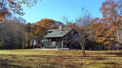 Photo for The Haven - a wonderful private, retreat on 6 acres - NEW hot tub & fire pit