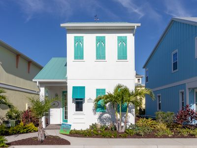 Photo for Charming, brand-new Margaritaville Cottage! Food and beverage service at private cabanas on-site!