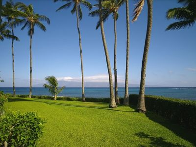Photo for Napili Shores Oceanfront Eden - Completely Remodeled in 2014